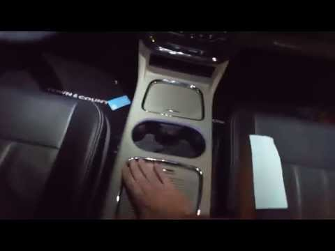 2015 Town and Country Upper Center Console Removal for Items that Slid Behind the Front Lid