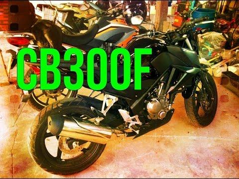 Honda CB300F first ride Wiang Sa, Nan, Thailand 2015