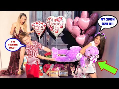 Txunamy's CRUSH Surprised Her For VALENTINE'S DAY!! **GONE WRONG**