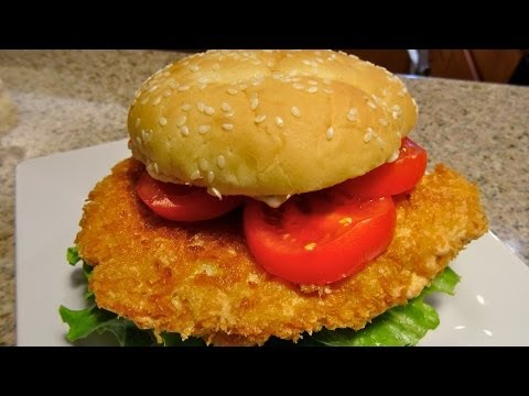Fried Shrimp Burger / Ebi Katsu Burger Recipe / World of Flavor