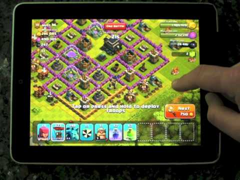 Clash of Clans 800k resources from max balloon and minions