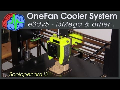 E3Dv5 Scolopendra i3 Cooler for Anycubic i3 Mega and other