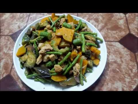 Pakbet Tagalog or Pinakbet