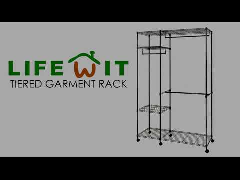 How to Assemble Lifewit Tiered Garment Rack