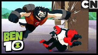 Ben 10 | Bashmouth vs Ben's Aliens | Introducing Kevin 11 | Cartoon Network