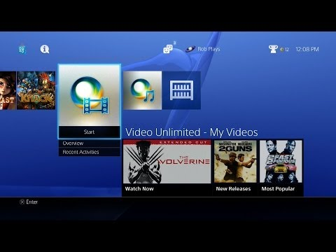 Entertainment Services Offered | PS4 FAQs