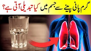 Garam Pani Peny Sy Jysam Main Kia Hota Hai || If You Drink Warm Water What Happens In Body