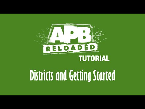 APB Tutorial | Districts and Getting Started