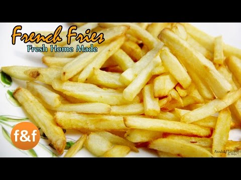 French fries Recipe | Make Crispy Mcdonald's French fries Recipe at Home  -  Indian Snacks Recipes