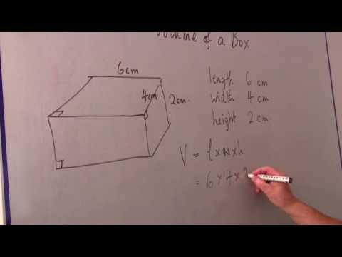 Math Calculations & Conversions : How to Calculate the Volume of a Box