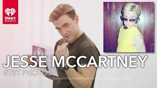 Jesse McCartney Recreates Pose From Debut Album + Dream Street Photos | #TBT Exclusive Interview