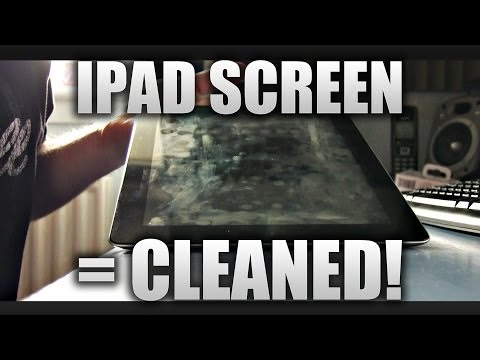 How To Clean Your iPad/ Tablet/ Phone = RAPID BUFF!