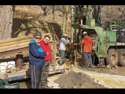 The Garlock Project - Drilling for Primary Water in the Tehachapi's