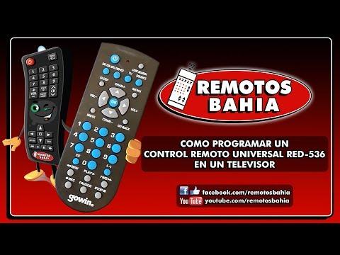COMO PROGRAMAR UN CONTROL REMOTO UNIVERSAL RED-536