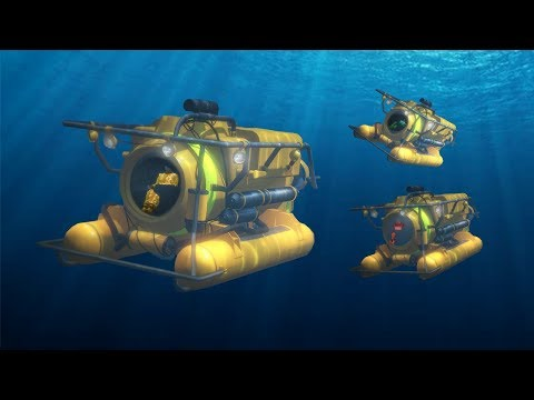 EXTREME UNDER WATER SUBMARINE RACE! (GTA 5 Races)