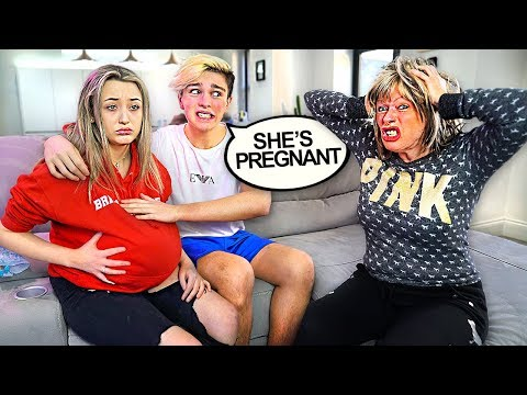 Xxx Mp4 I Told My Mom My Girlfriend Is Pregnant PRANK 3gp Sex