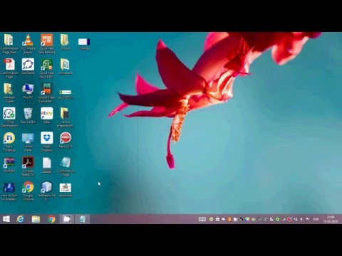 How to change desktop wallpaper in windows 8