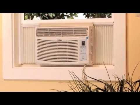 Learn How to Install a Haier Air Conditioner Into a Double Hung Window.