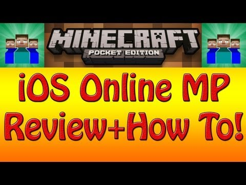 How to play Online Multiplayer Minecraft Pocket Edition on iOS without jailbreaking Tutorial!