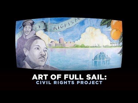 Full Sail Students Celebrate the Civil Rights Movement Through Art
