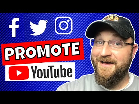 How To Use Social Media To Promote Your YouTube Channel in 2018