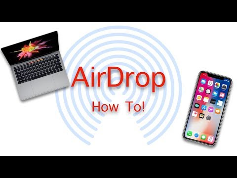 How to Use Airdrop!
