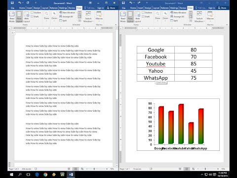 How to View and Edit Two Files Side by Side (Word, Excel, PowerPoint)