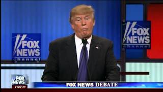 Donald Trump defends the size of his privates in GOP debate