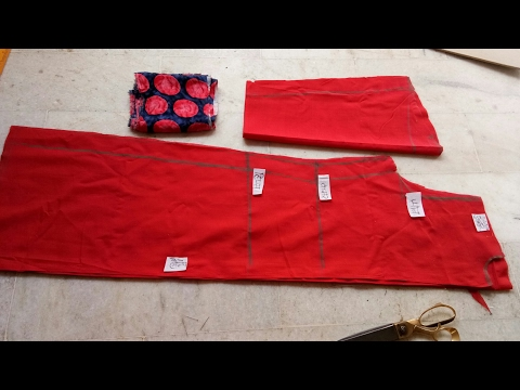 Suit kurti  eazy cutting step by step (part 1st) front open
