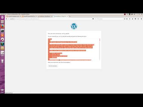 Create database in phpmyadmin to connect Wordpress Part 9