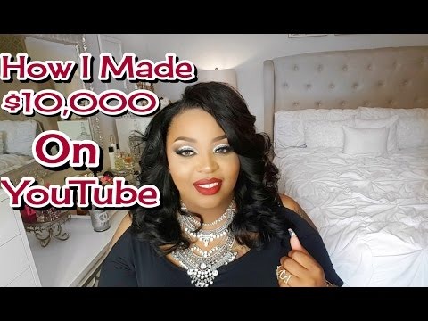 How I Made 10,000 on Youtube| How To Get Paid On YouTube + More!