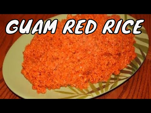 How to Make Guam Red Rice - Part 2