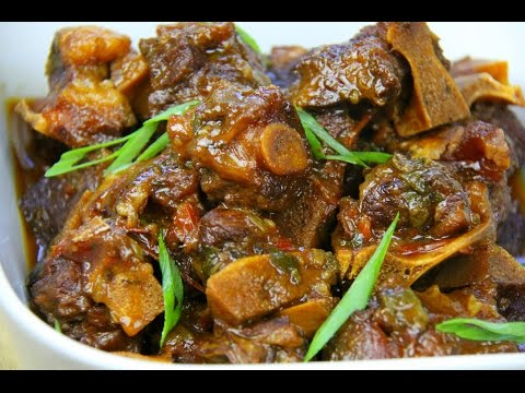 WARNING! The BEST Stewed Oxtails Recipe | CaribbeanPot.com