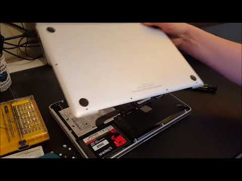 How To Replace a Hard Disk on Mac with an SSD (Solid State Disk)