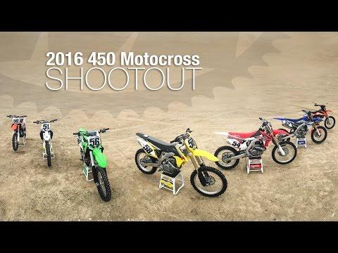 2016 450 Motocross Shootout - MotoUSA