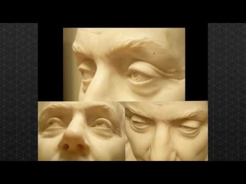 Sculpting the eye pt.1