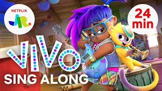 ALL Vivo Sing Along Songs & Music Videos 🎶🐵 Netflix Jr