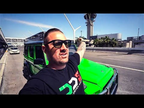 I HAVE TO LEAVE THE UNITED STATES! GOT A LYFT IN 700 HP BENZ G63 AMG TO AIRPORT!