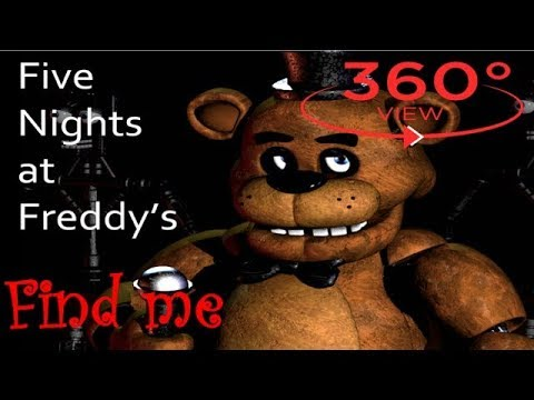 360° Video - FNAF's Virtual Reality Experience 360 | FNAF's Gangnam Style