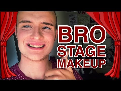 Male Stage Makeup... Tutorial? (Drugstore)