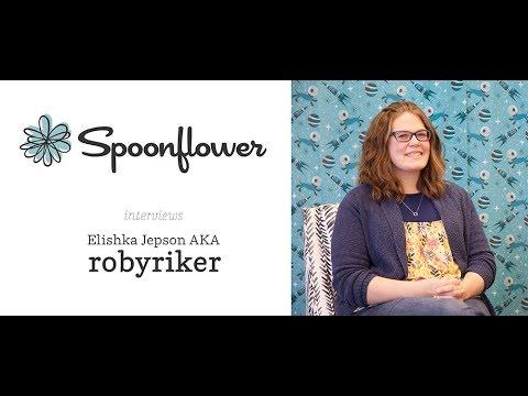 Spoonflower Interviews...Robyriker   Spoonflower