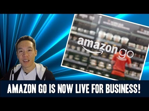 Nukem384 News: Amazon Go is Now Live for Business Video!