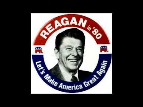 Montage Vidéo Kizoa:  Ronald Reagan let's make america great again