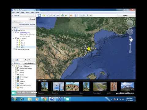 Google Earth GE Graph tutorial (GIS)