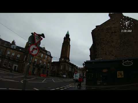 Time lapse walking through Edinburgh, Scotland using a Front Row wearable camera from Ubiquiti