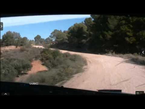 Onboard Kubica rally Catalunya-costa Daurada ss4 2015