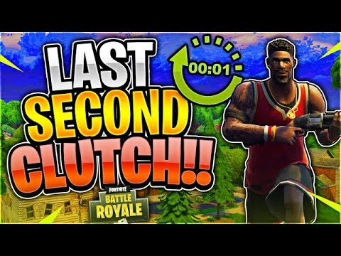 CRAZY LAST SECOND CLUTCH! Tournament Highlights #48 (Fortnite Battle Royale)