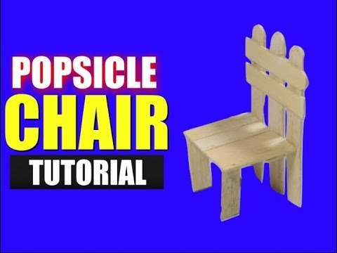 Diy Ice Cream Sticks Chair for Kids | How to make DIY Popsicle Stick Chair  | Million Dollar Crafts
