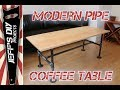 How to Build a Modern Black Pipe Coffee Table