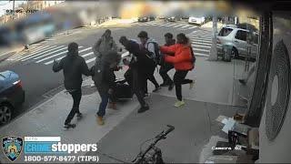 Teen mob attacks girl on Brooklyn sidewalk for her sneakers, iPhone
